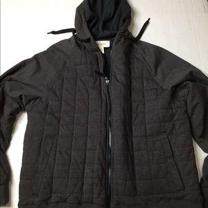 Field and Stream Dark Gray reversible thremal hood